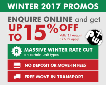 Rent online and get up to 15% off. Rent free promotions. Free move-in transport. No deposit or move-in fees.