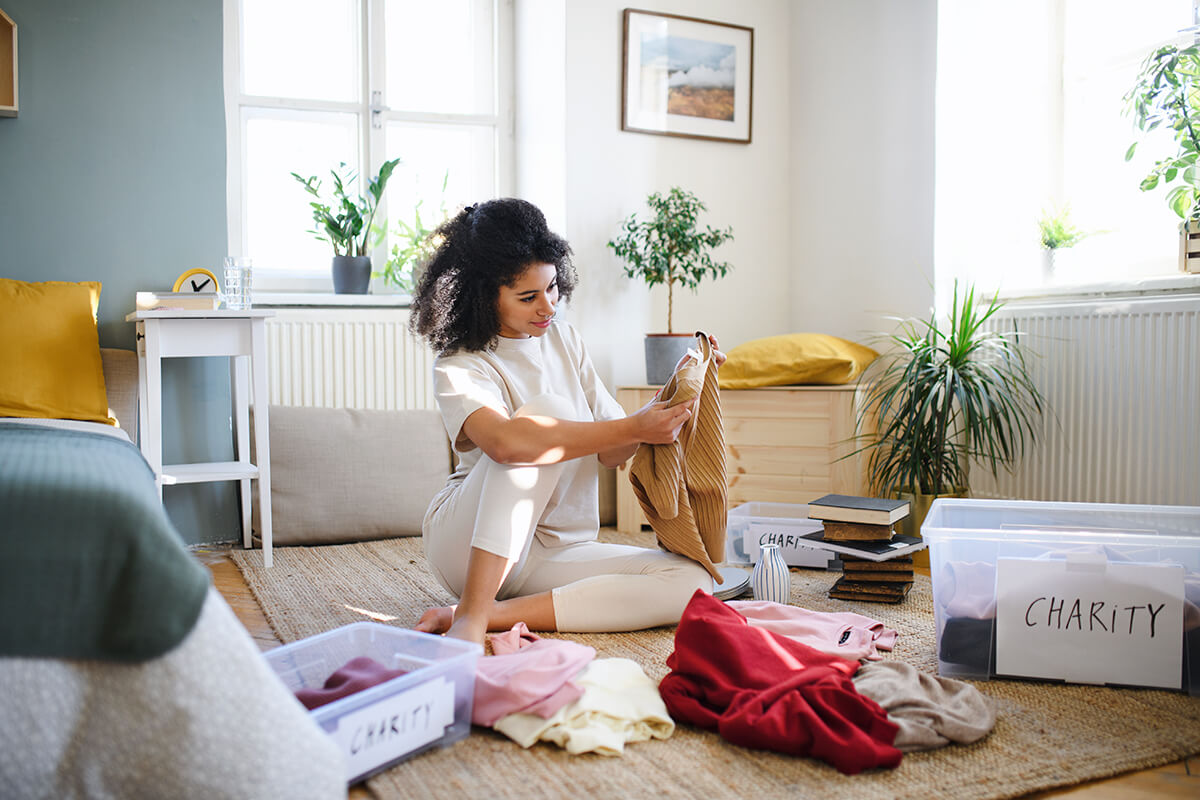 Eliminate Clutter in your home